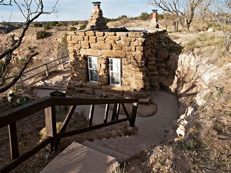 Cabins Palo Duro by Palo Duro State Park Goodnight Cabin Parks Wildlife Department