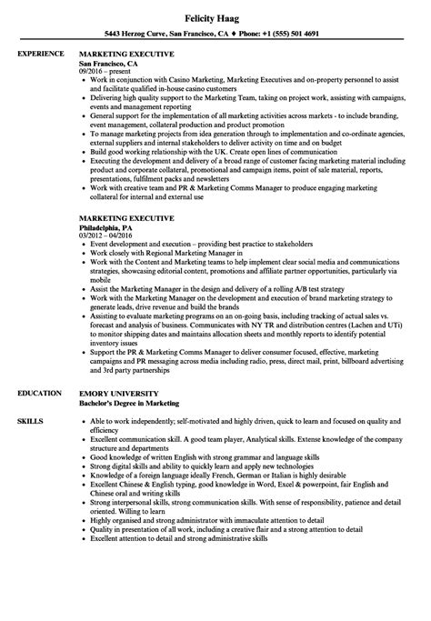 marketing resume sample resume genius