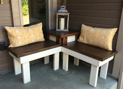 remodelaholic build  corner bench  built  table
