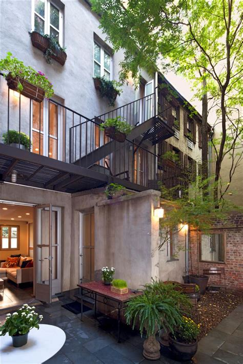 east village carriage house  modernist interiors