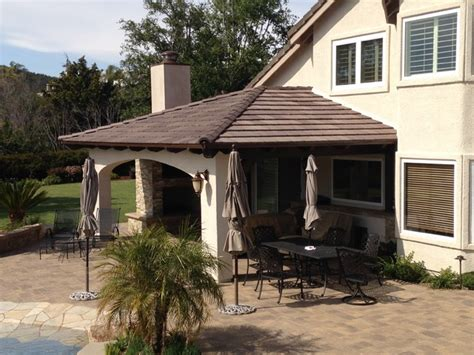 Attached Patio Cover Designs Attached Solid Roof Patio Covers