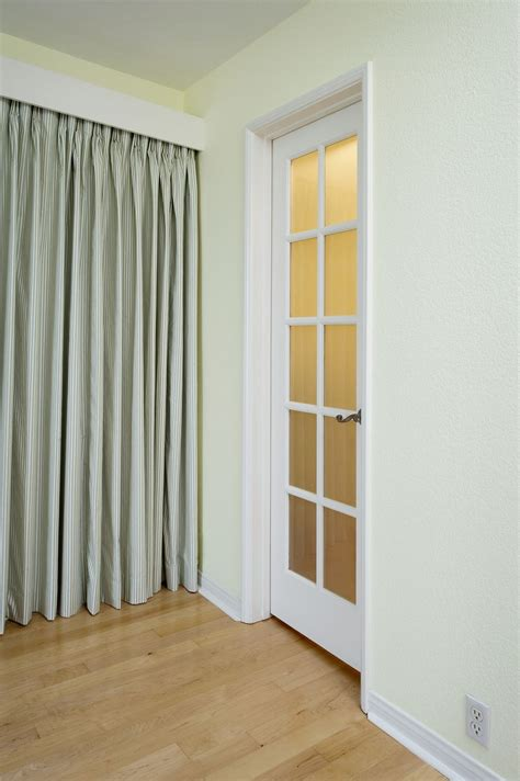 Creative Bedroom Closet Door Decorating Ideas No Closet Doors