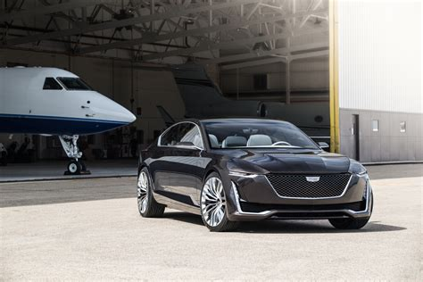 Turbo Cadillac by Cadillac Escala Concept Debuts 4 2 Liter Turbo V8