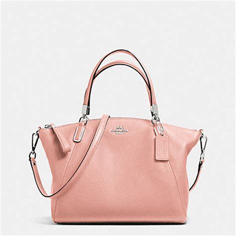 Ready Coach Kelsey Small Black coach f34493 small kelsey satchel in pebble leather silver blush coach handbags