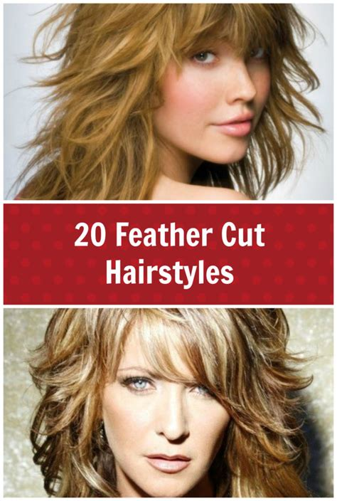 how to cut mens hair to feather 20 feather cut hairstyles for long medium and short hair