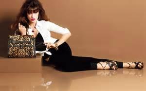 Home Design Trends Spring 2015 fashion model sandrah hellberg wearing leopard print
