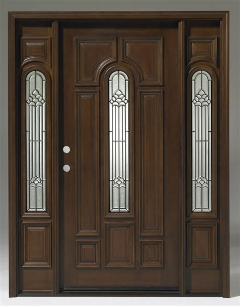 Wood Front Entry Doors With Sidelights Discount Front Doors Discount Doors Mahogany Cheap Clearance Entry Exterior Doors 100 Patio