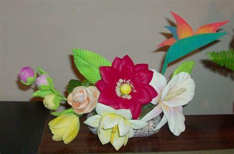 Imagenes De Flores Fomix | flores de fomi con moldes gratis imagui