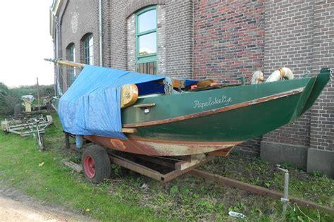 zeilboot platbodem zeilboot platbodem schouw 630cm 9 9 pk m