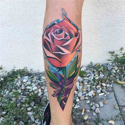 new school rose tattoo new best ideas gallery