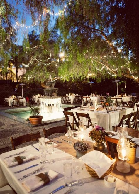 Garden Reception Ideas What I M Loving Wednesday Lavish Outdoor Receptions A Realistic Wedding