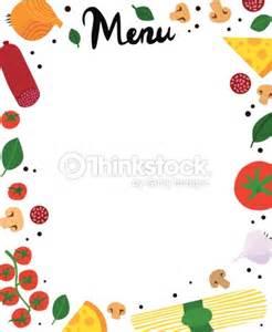Italian Themed Kitchen Ideas italian ingredients menu template vector art thinkstock