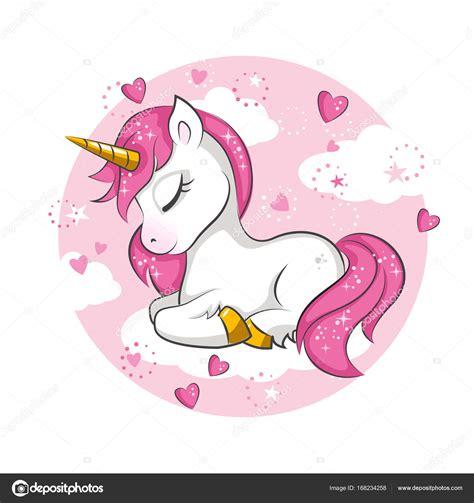 imagenes de unicornios bebes peque 241 o unicornio rosa vector de stock 169 sivanova 168234258