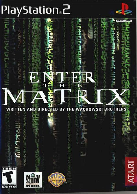 Ps2 Matrix enter the matrix sony playstation 2