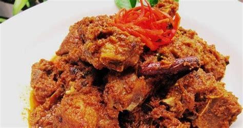 Rendang Selamat Asli Padang resepi rendang ayam padang sedap resepi masakan melayu
