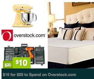 Overstock Discount Gift Card - overstock com 20 gift card for 10