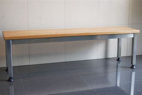 locker room benches free standing stainless steel free standing changeroom and locker room