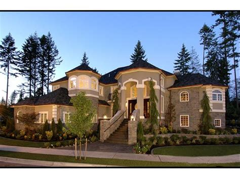 elegant homes classic country house in russia with a plan 035h 0034 find unique house plans home plans and