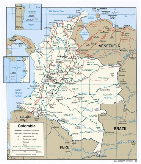 south america map colombia south america colombia political map wallpapers travel
