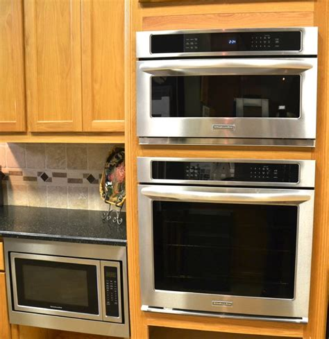 Kitchen Cabinet Microwave by Kitchenaid Convection Microwave Convection Wall Oven