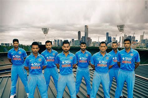 team india team india s new odi kit launched news bcci tv