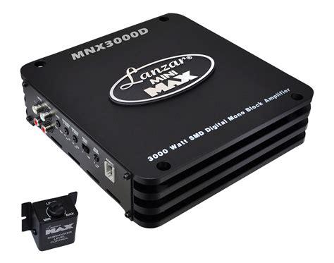 Power Lifier Subwoofer lanzar mnx compact 3000w monoblock car subwoofer power lifier mono sub ebay