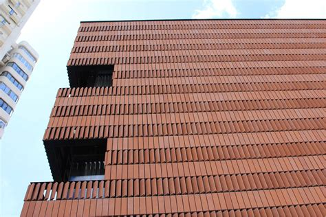 Hengshang HOTEL ,Shanghai   LOPO China   Terracotta Facade Panel Manufacturer