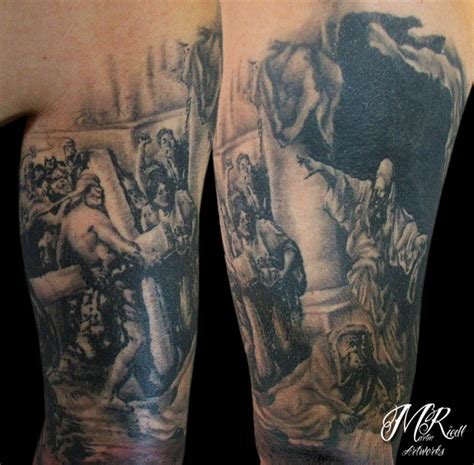 the crucifixion of jesus by anderstattoo on deviantart