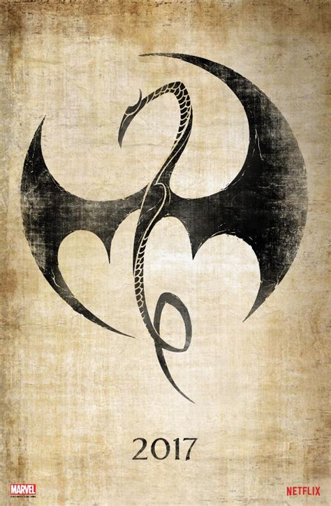 iron fist tattoo the teaser trailer for marvel and netflix s iron