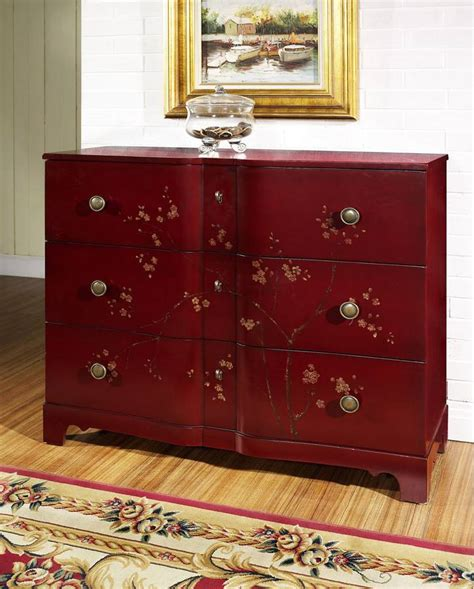 buy pulaski margaret accent table in cherry from bed bath beyond buy pulaski chili accent chest online confidently