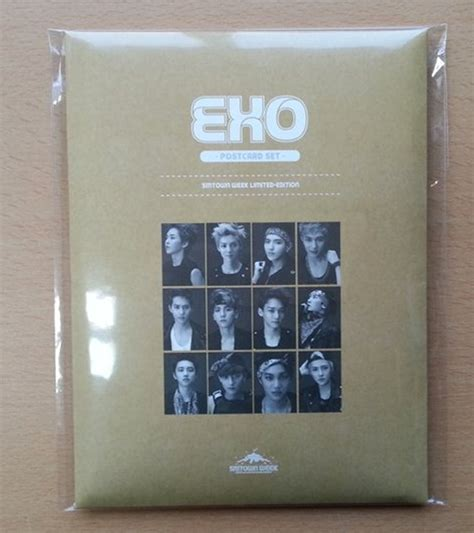 Exo Smtown Week Limited Edition Color Ver Photo Set Official exo postcard set smtown week limited edition