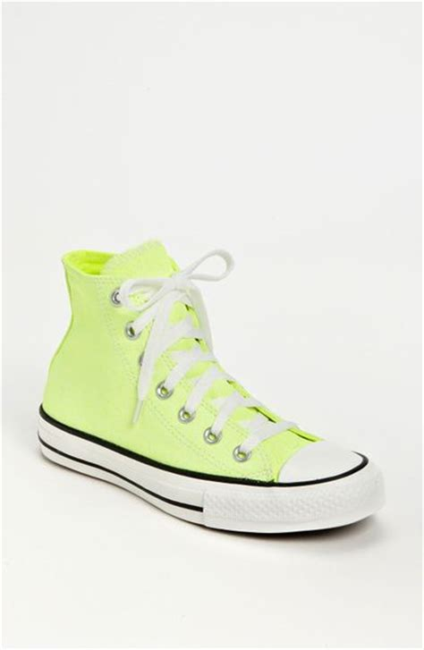 neon high top sneakers converse chuck all washed neon high top