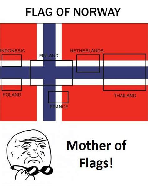 Flag Meme - flag of norway indonesia netherlands poland thailand