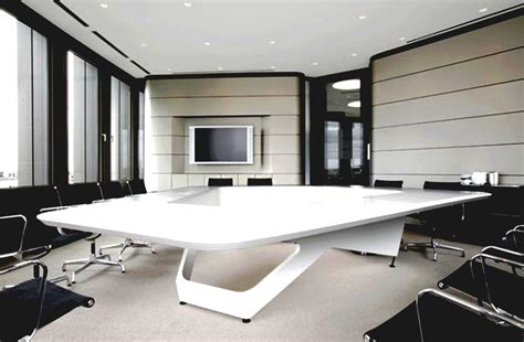 luxurious home office with modern executive office
