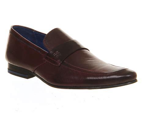ted baker loafers mens ted baker fotiu loafer leather formal shoes