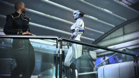 mass effect 3 romance scene liara youtube mass effect 3 liara romance on the citadel youtube