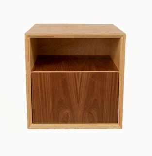 Cube Nightstand by Jackson Cube Stand