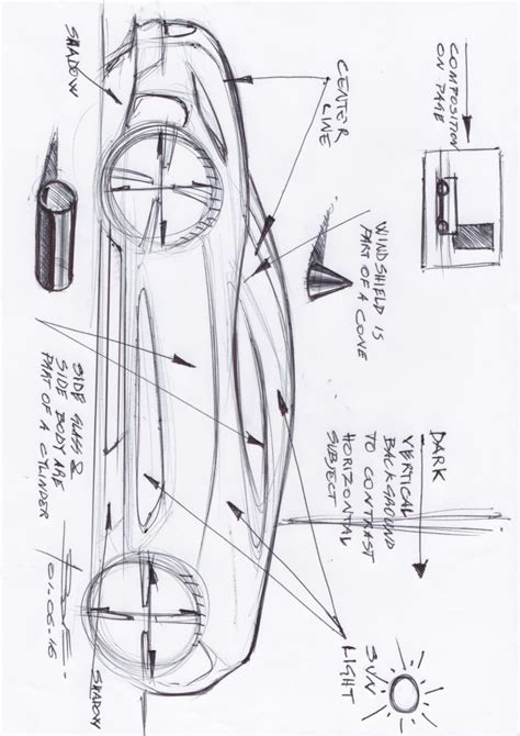 sketchbook basic tutorial basic car sketches www imgkid the image kid has it