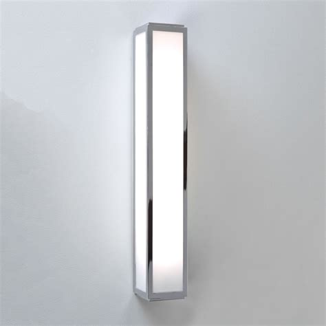 Bathroom Led Wall Lights Astro Lighting 7134 Mashiko 600 Led Ip44 Bathroom Wall Light In Chrome