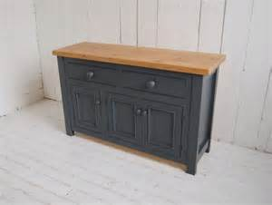 Bespoke Kitchen Islands Hand Painted Sideboard Eastburn Country Furniture