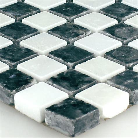 granit mosaik fliese blue pearl 15x15x8mm ebay