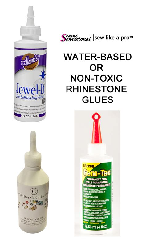 water non toxic rhinestone glue which is right for your dress sew like