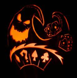 lock shock and barrel pumpkin templates oogie boogie dice carving by captain sparrow on deviantart