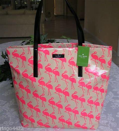 Kate Spade Tote Flamingo kate spade daycation flamingo bon shopper tote bag purse nwt