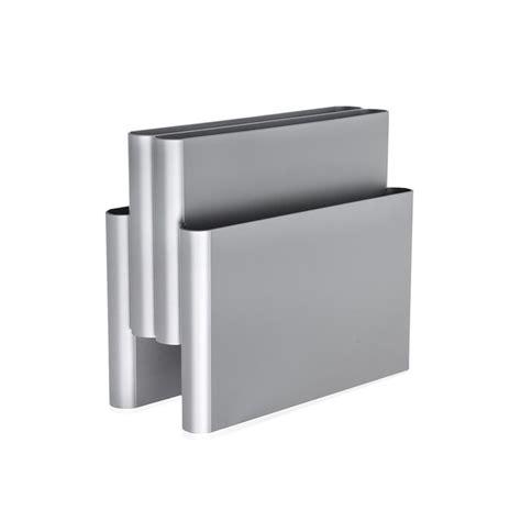 buy kartell magazine rack silver amara