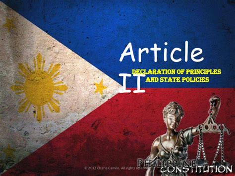 Article 1 Section 2 Clause 5 by Philippine Constitution 1987 Article 2