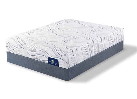 serta memory foam bed serta shieldcrest plush memory foam mattress at furniture