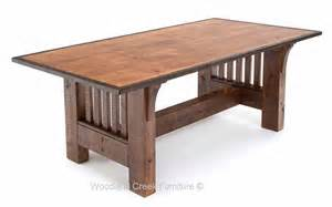 refined rustic dining table elegant sophisticated craftsman