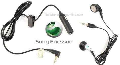 Headset Sony Ericsson Xperia Original Sony Ericsson Xperia Play Stereo Ear Bud Headset