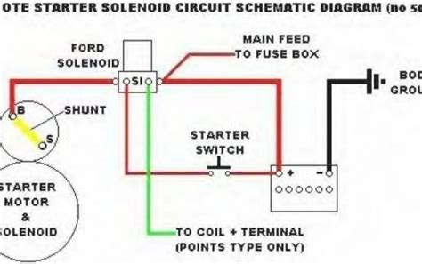 starter relay wiring diagram wiring diagram and